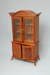 203. Leaded China Cabinet, Two-Door